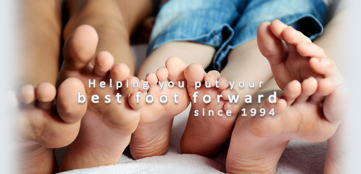 Footcare for the whole family